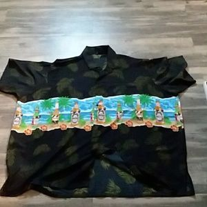 Summer tiki bar shirt